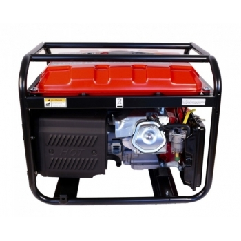 Generator de curent O-mac, LC6500D-A Series Loncin, monofazic, putere 5.5 kW, benzina, putere motor 13 Cp, tensiune 240 V, pornire electrica, AVR inclus #3