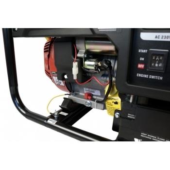 Generator de curent O-mac, LC6500D-A Series Loncin, monofazic, putere 5.5 kW, benzina, putere motor 13 Cp, tensiune 240 V, pornire electrica, AVR inclus #7