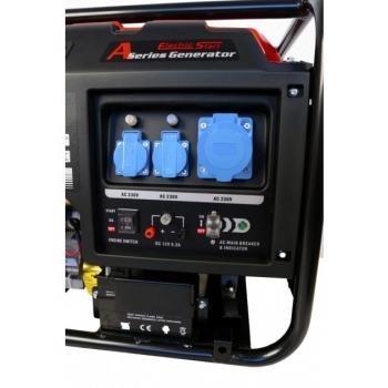 Generator de curent O-mac, LC6500D-A Series Loncin, monofazic, putere 5.5 kW, benzina, putere motor 13 Cp, tensiune 240 V, pornire electrica, AVR inclus #8