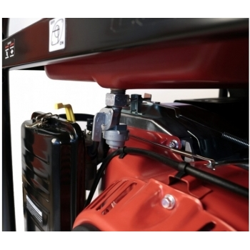 Generator de curent O-mac, LC6500D-A Series Loncin, monofazic, putere 5.5 kW, benzina, putere motor 13 Cp, tensiune 240 V, pornire electrica, AVR inclus #5