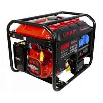 Generator de curent O-mac, LC6500D-A Series Loncin, monofazic, putere 5.5 kW, benzina, putere motor 13 Cp, tensiune 240 V, pornire electrica, AVR inclus #2