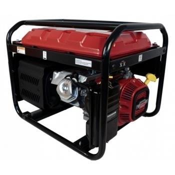 Generator de curent O-mac, LC8000D-A Series Loncin, trifazic, putere 7.0 kW, benzina, putere motor 15 Cp, tensiune 380 V, pornire electrica #2