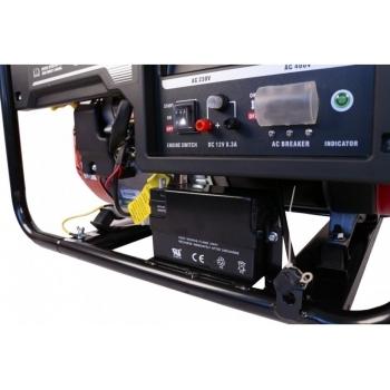 Generator de curent O-mac, LC8000D-A Series Loncin, trifazic, putere 7.0 kW, benzina, putere motor 15 Cp, tensiune 380 V, pornire electrica #8