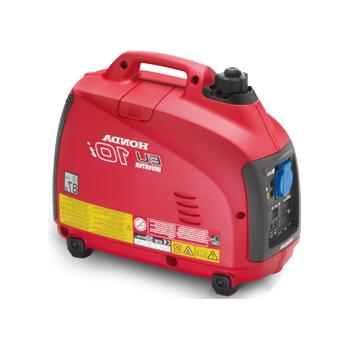 Generator de curent Honda, EU10i, monofazic, putere 0.8 kW, benzina, putere motor 1.08 Cp, tensiune 230 V, pornire manuala, portabil, insonorizat