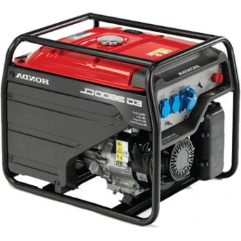 Generator de curent Honda, EG3600, monofazic, putere 2.88 kW, benzina, putere motor 4 Cp, tensiune 230 V, pornire manuala, AVR inclus digital
