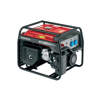 Generator de curent Honda, EG5500, putere 4.4 kW, benzina, putere motor 7 Cp, tensiune 230 V, pornire manuala, AVR inclus digital