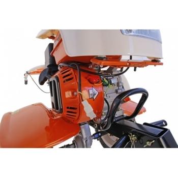Motosapa O-mac NEW 750-S cu roti, benzina, putere 7 Cp, pornire la sfoara, 2 viteze inainte + 1 inapoi #6