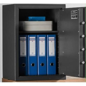 Seif pentru birouri,  cu 1 polita, Safe 606/426, Metalobox