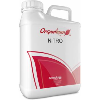 Ingrasamant lichid organic BIO, pe baza de aminoacizi de origine animala,cu aplicare foliara,  Organihum Nitro, 20 L, Eco Natur