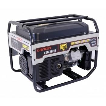 Generator de curent O-mac, LC13000 Loncin, monofazic, putere 9.5 kW, benzina, putere motor 12.7 Cp, tensiune 240 V, pornire electrica, AVR inclus