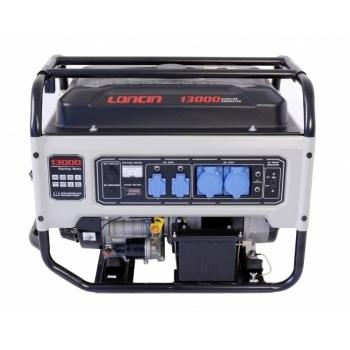 Generator de curent O-mac, LC13000 Loncin, monofazic, putere 9.5 kW, benzina, putere motor 12.7 Cp, tensiune 240 V, pornire electrica, AVR inclus #2