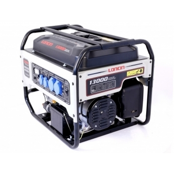 Generator de curent O-mac, LC13000 Loncin, monofazic, putere 9.5 kW, benzina, putere motor 12.7 Cp, tensiune 240 V, pornire electrica, AVR inclus #3