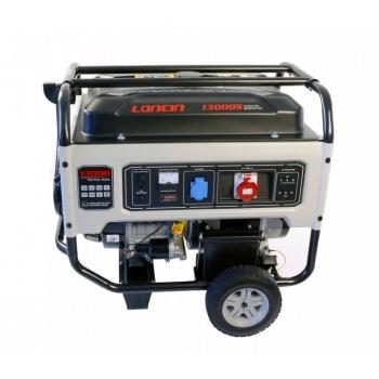 Generator de curent, LC13000S Loncin, trifazic, putere 10.0 kW, benzina, putere motor 13.4 Cp, tensiune 380 V, pornire electrica, AVR inclus #4