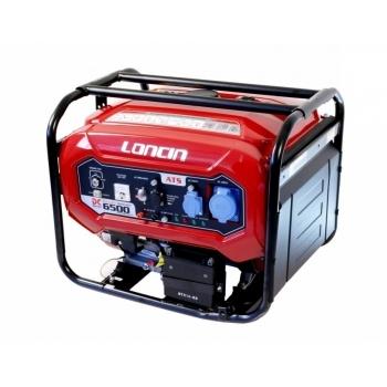 Generator de curent O-mac, LC6500DC Loncin, monofazic, putere 5,5 kW, benzina, putere motor 7.38 Cp, tensiune 220 V, pornire electrica, AVR inclus #3