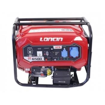 Generator de curent O-mac, LC6500DC Loncin, monofazic, putere 5,5 kW, benzina, putere motor 7.38 Cp, tensiune 220 V, pornire electrica, AVR inclus #4
