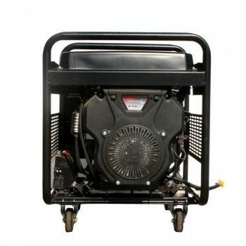 Generator de curent O-mac, LC12000 Loncin, monofazic, putere 9.5 kW, benzina, putere motor 12.7 Cp, tensiune 220 V, pornire electrica, AVR inclus #2