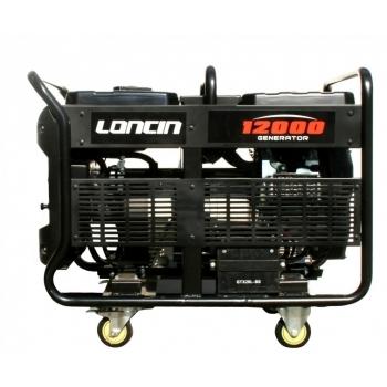 Generator de curent O-mac, LC12000 Loncin, monofazic, putere 9.5 kW, benzina, putere motor 12.7 Cp, tensiune 220 V, pornire electrica, AVR inclus #3