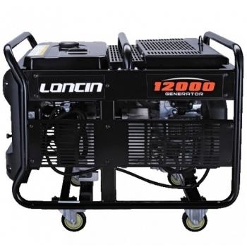 Generator de curent O-mac, LC12000 Loncin, monofazic, putere 9.5 kW, benzina, putere motor 12.7 Cp, tensiune 220 V, pornire electrica, AVR inclus #4