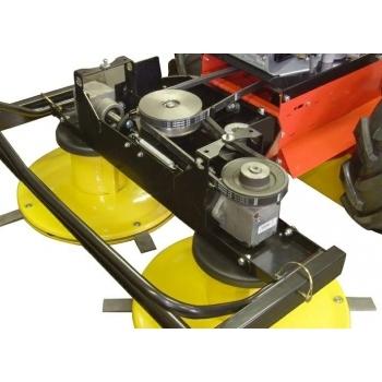 Motocositoare BDR 1200, cu 2 tamburi rotativi, 10.2 CP,  Vari #5