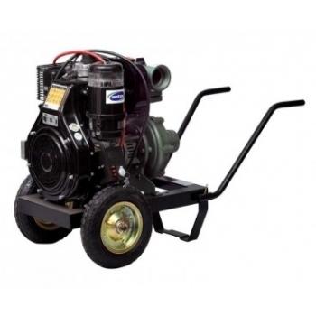 "Motopompa diesel Antor, 3LD 510 LY-3, aspiratie 4"",  debit 20-55 mc/h,  inaltime 65-25 m, pornire electica, Antor"