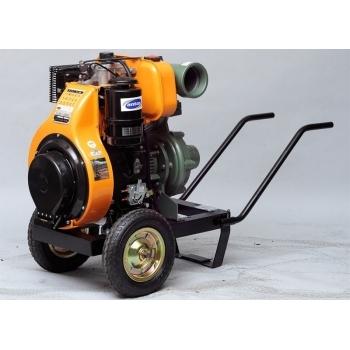 "Motopompa diesel Antor 4LD 820 LY3, aspiratie 4"", refulare 4"", debit 20-80 mc/h,  inaltime 65-25 m, pornire electrica, Antor"