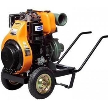 "Motopompa diesel Antor 4LD 640 LY-3, aspiratie 4"", refulare 4"", debit 20-60 mc/h, inaltime 75-25 m, pornire manuala, Antor"
