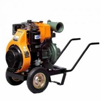 "Motopompa diesel  Antor 4LD 820 LS-4,  aspiratie 5"", refulare 4"", debit 20-175 mc/h, inaltime 40-5 m, pornire electrica, Antor"