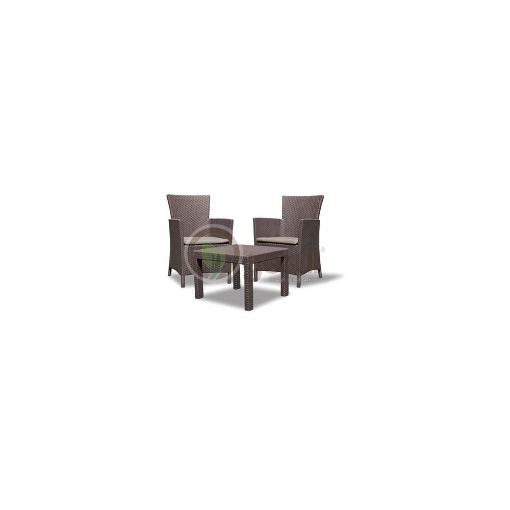 set mobilier balcon rattan rosario sand doua locuri. Black Bedroom Furniture Sets. Home Design Ideas