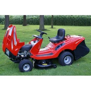 Tractoras de tuns iarba cu autopropulsie, hidrostatic, Hecht 5176,  motor in 4 timpi, 17.5 CP, inaltimea de taiere 30-90 mm, Hecht #5