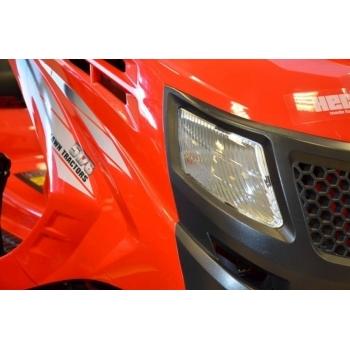 Tractoras de tuns iarba cu autopropulsie, hidrostatic, Hecht 5176,  motor in 4 timpi, 17.5 CP, inaltimea de taiere 30-90 mm, Hecht #6