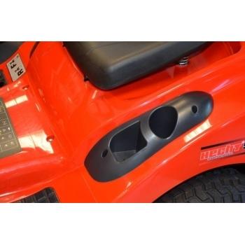 Tractoras de tuns iarba cu autopropulsie, hidrostatic, Hecht 5176,  motor in 4 timpi, 17.5 CP, inaltimea de taiere 30-90 mm, Hecht #7