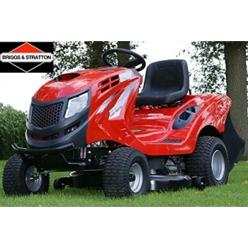 Tractoras de tuns iarba cu autopropulsie, hidrostatic, Hecht 5176,  motor in 4 timpi, 17.5 CP, inaltimea de taiere 30-90 mm, Hecht #2