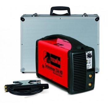 Invertor sudura MMA Telwin Technology 236 HD, 200 A, electrod 1.6-4.0 mm