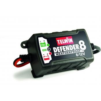 Redresor automat Telwin Defender 8, 6V/12V, 230 V, putere absorbtie 0.0015 kW