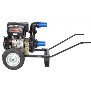 Motopompa Gardelina DWP 390 k, benzina, 13 cp, adancime abrsorbtie 7m,  debit refulare 1000l/h #2