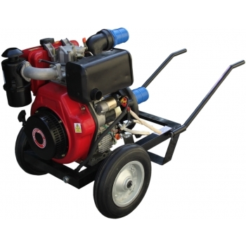 Motopompa Gardelina DWP 186 k, motorina, 9 cp, adancime abrsorbtie 7m,  debit refulare 1000l/h