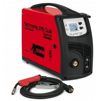 Aparat de sudura MIG/MAG Telwin Technomig 215 Dual Synergy, 220 A, 230 V