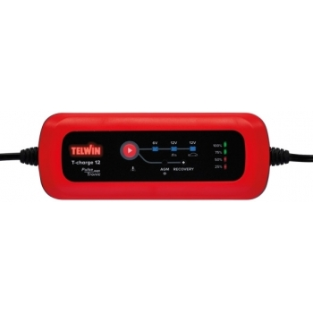 Redresor auto Telwin T-Charge 12 6V/12V, 230 V, putere absorbtie 0.055 kW #3