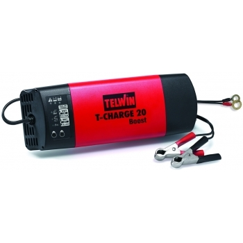 Redresor auto Telwin T-Charge 20 Boost 12V/24V, putere absorbtie 110 W