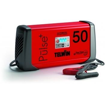 Redresor auto Telwin Pulse 50 6V/12V/24V, 230 V, putere absorbtie 0.57 kW