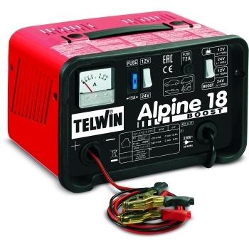 Redresor auto Telwin Alpine 18 Boost 12-24V, 230 V, putere absorbtie 0.2 kW