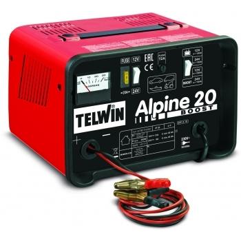 Redresor auto Telwin Alpine 20 Boost 12-24V, 230 V, putere absorbtie 0.3 kW