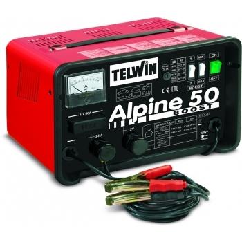 Redresor auto Telwin Alpine 50 Boost 12-24V, 230 V, putere absorbtie 1.0 kW
