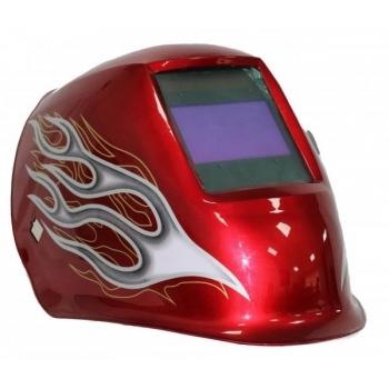 Masca de sudura cu cristale  lichide Intensiv 4 Senzori Red XL, cu filtru reglabil de la 9 la 13 #2