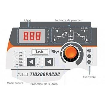 Aparat de sudura TIG Jasic TIG 200  AC/DC, 200 A/160A, 230 V, electrod 1.6-3.2 mm #5