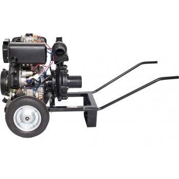 Motopompa Gardelina DWP 188 K, motorina, 12 cp, adancime abrsorbtie 7m,  debit refulare 1000l/h