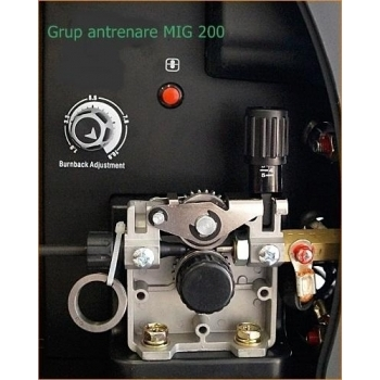 Aparat de sudura MIG/MAG Jasic MIG 200, 200 A, 230 V, electrod 1.6-4.0 mm #5