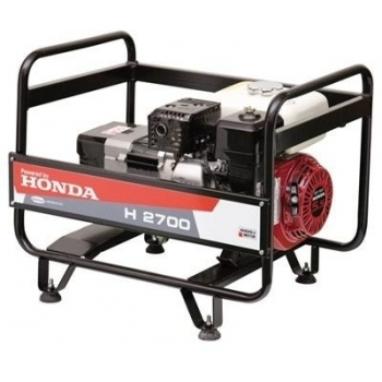 Generator Anadolu H 2700, motor Honda GX 160, 5.5 CP, monofazic, pornire manuala, Anadolu