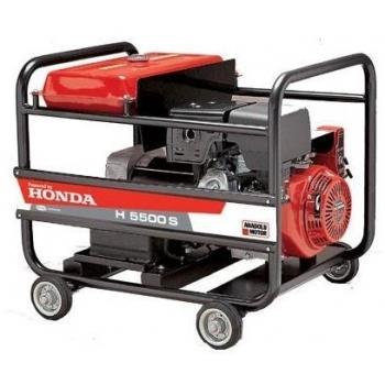Generator Anadolu H5500 M, motor Honda GX 390, 13 CP, monofazic, pornire manuala, Anadolu