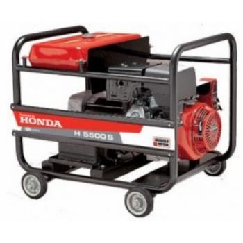 Generator Anadolu H5500 M, cu motor Honda GX 390, 13 CP, monofazic, cu panou automatizare, Anadolu
